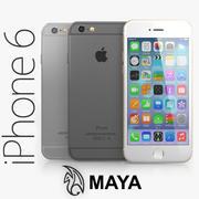 Apple iPhone 6 MAYA modelo 3d