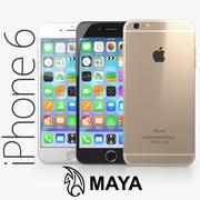 Apple iPhone 6 Plus MAYA modelo 3d