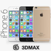 Apple iPhone 6 Plus 3DMAX 3d model