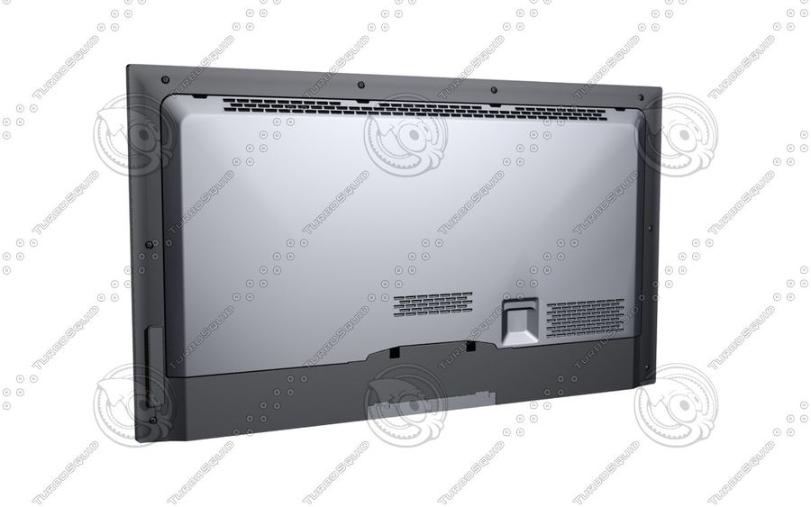Office electronics set royalty-free 3d model - Preview no. 22