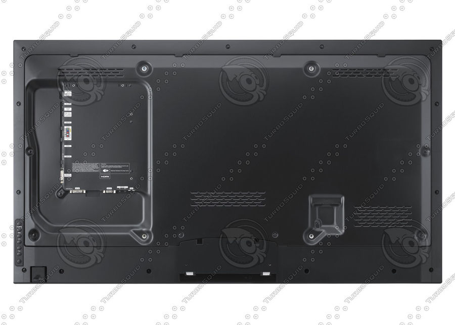 Office electronics set royalty-free 3d model - Preview no. 35