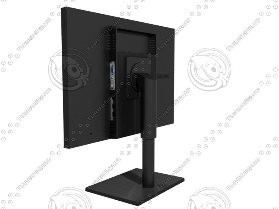 Office electronics set royalty-free 3d model - Preview no. 25