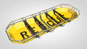 Stretcher Rescue 3d model