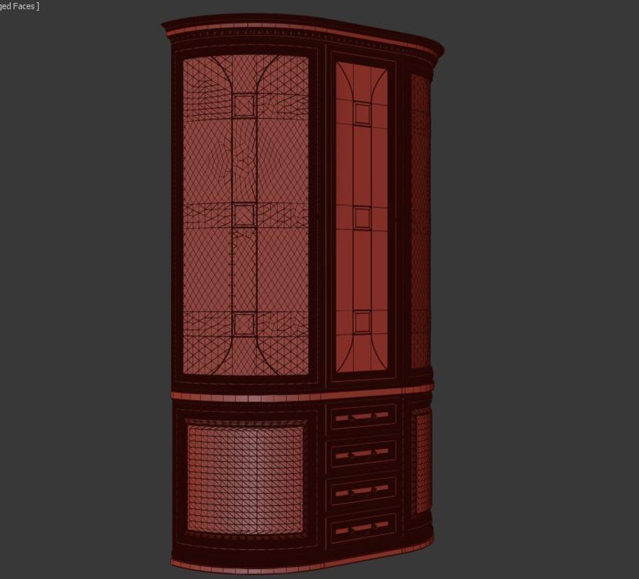 Vitrine royalty-free 3d model - Preview no. 10