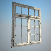 old window 3d model