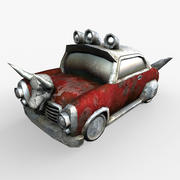 Gaming Asset Low Poly Auto 3d model