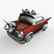 游戏资产低聚汽车 3d model