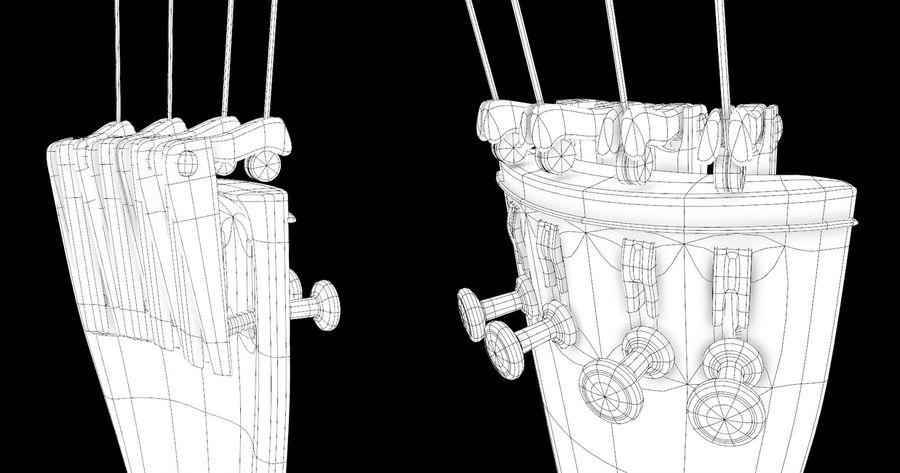 Scène de scène de violoncelle royalty-free 3d model - Preview no. 14