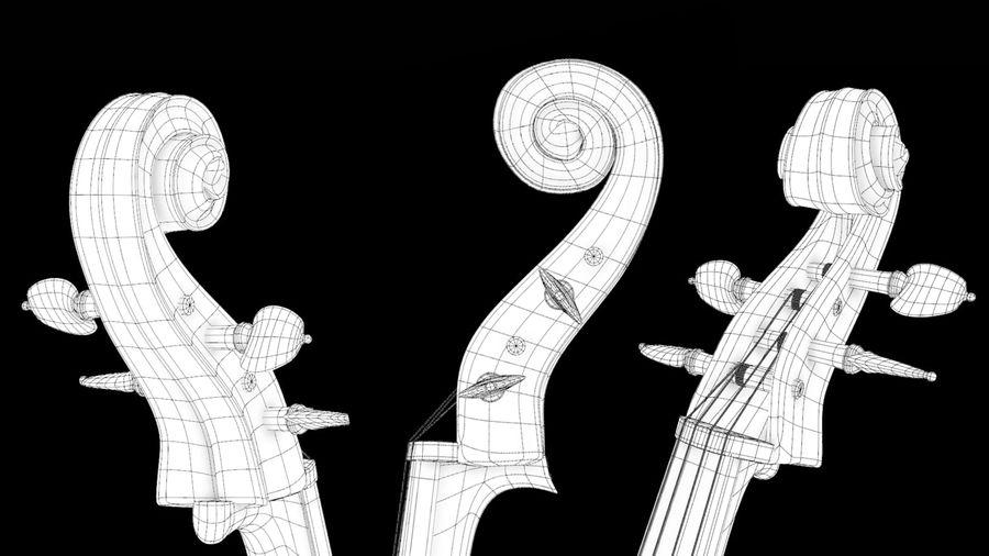 Scène de scène de violoncelle royalty-free 3d model - Preview no. 5