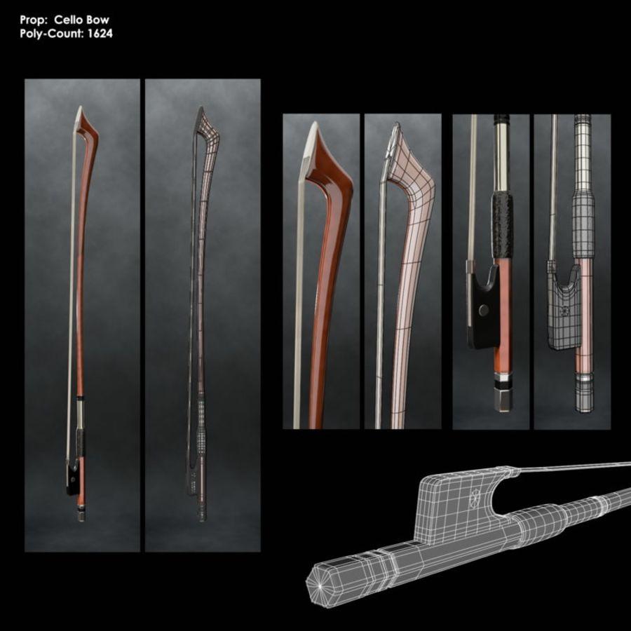 Scène de scène de violoncelle royalty-free 3d model - Preview no. 7