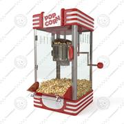 Mała maszyna do popcornu 3d model