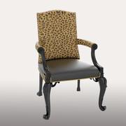 Safari chair 3d model