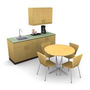 Break Room Pack 1 3d model