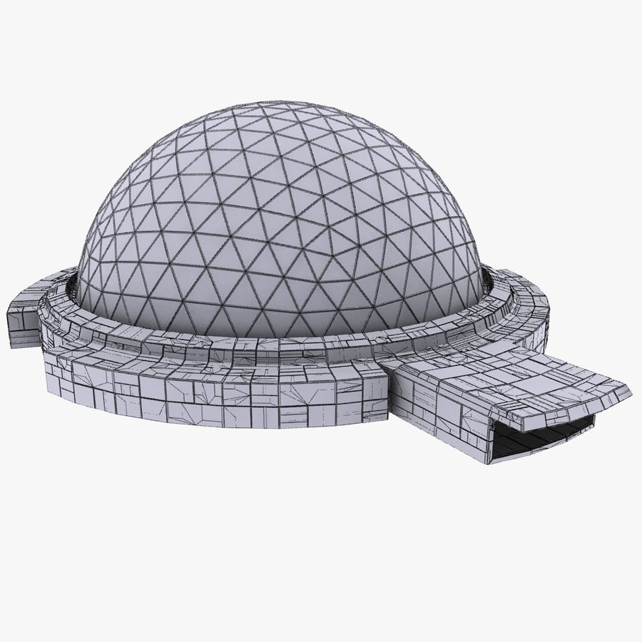 Dome City MHT-09 royalty-free 3d model - Preview no. 8