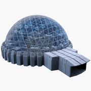 Dome City MHT-06 3d model