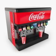 Fontanna Cola 3d model