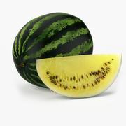 Realistische Wassermelone 3d model