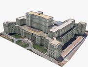 议会宫,罗马尼亚布加勒斯特 3d model