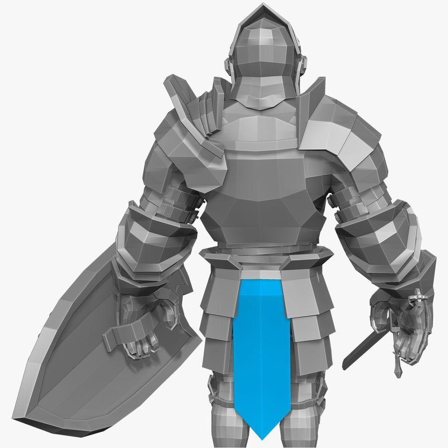 Oyun Şövalyeleri (Seri A) K3 Base Mesh royalty-free 3d model - Preview no. 2