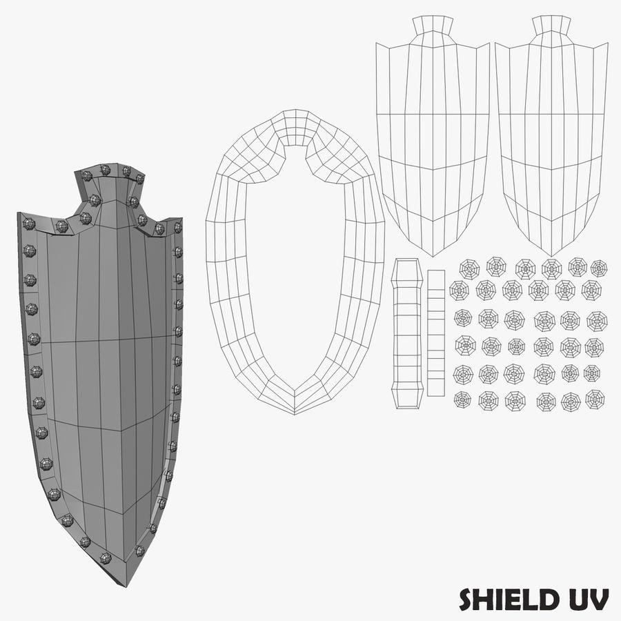 Oyun Şövalyeleri (Seri A) K3 Base Mesh royalty-free 3d model - Preview no. 19