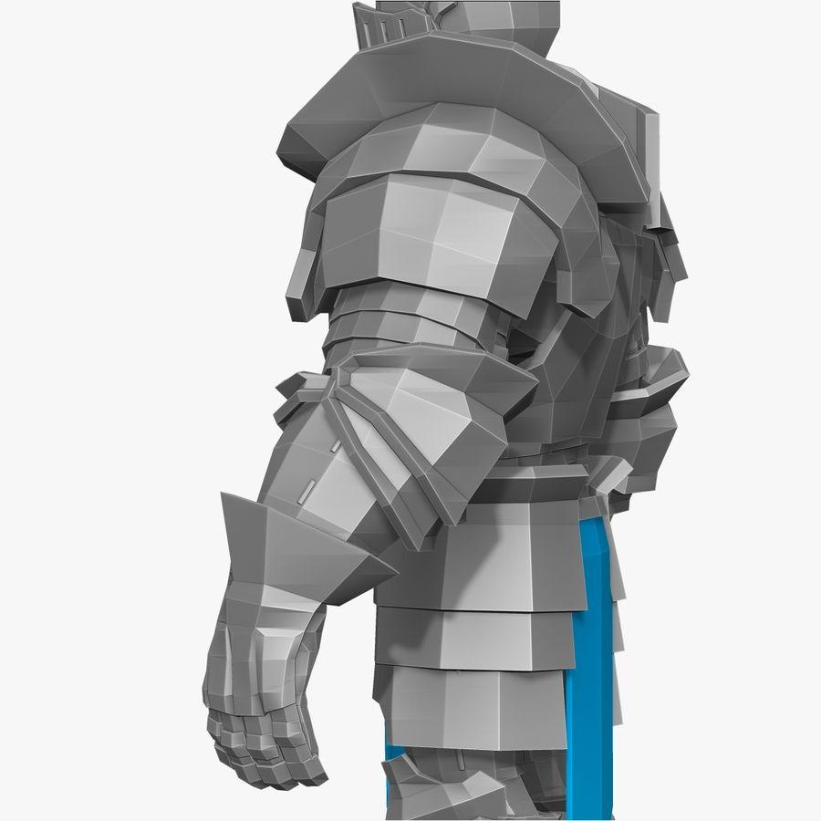 Oyun Şövalyeleri (Seri A) K3 Base Mesh royalty-free 3d model - Preview no. 7