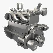 Motor GAZ 3d model
