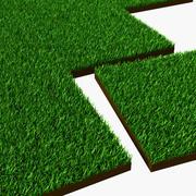 Grass Collection-tegels 3d model