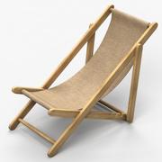 Beach Seat 3d model