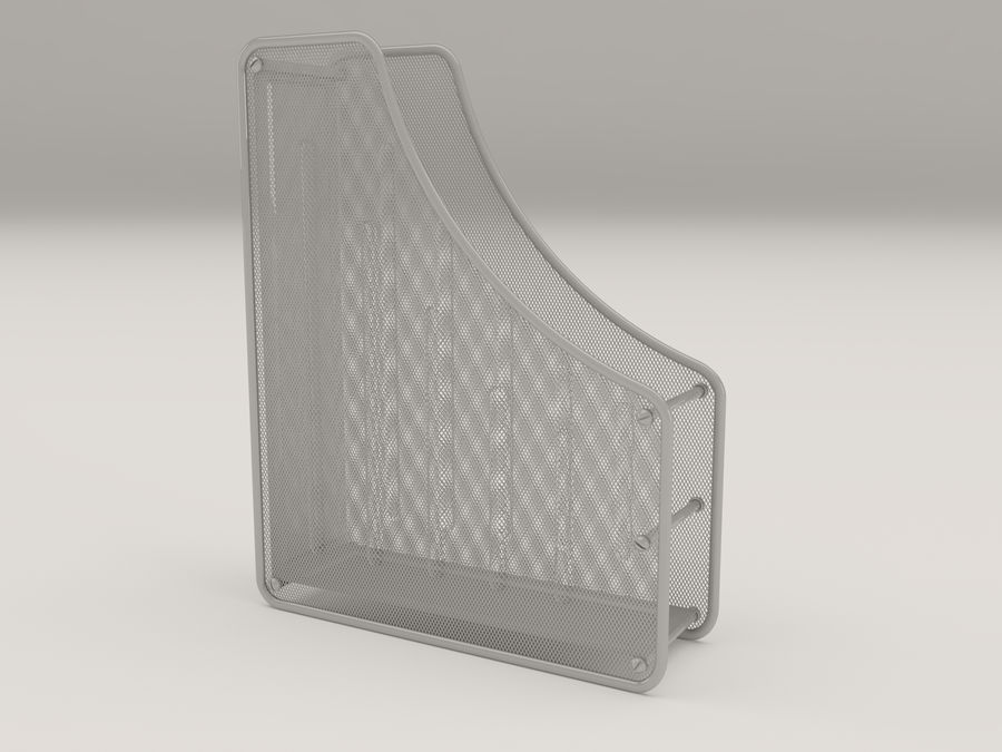 File holder royalty-free 3d model - Preview no. 1