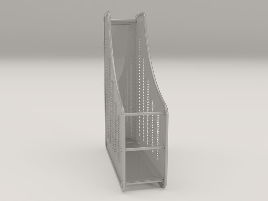 File holder royalty-free 3d model - Preview no. 2