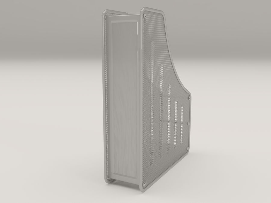 File holder royalty-free 3d model - Preview no. 3