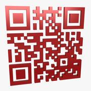 Código QR 3d model