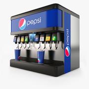 Pepsi Fountain 3d model