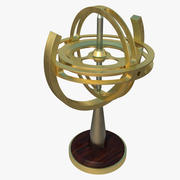 Gyroscope 3d model