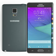Samsung Galaxy Note Kenar Siyah 3d model