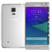 三星Galaxy Note Edge白色 3d model