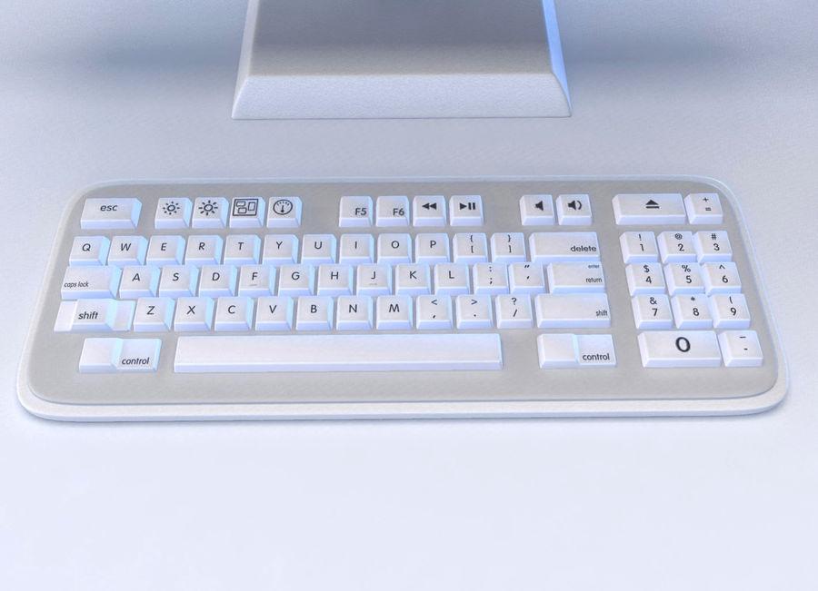tecknad dator pc-uppsättning royalty-free 3d model - Preview no. 4