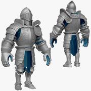 Oyun Şövalyeleri (Seri A) K3 Yüksek Poly Sculpt 3d model