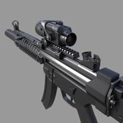 MP5 3d model