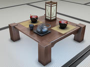 Japanese collection 3d model