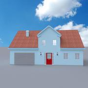 Słodki dom 3d model