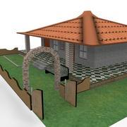 House_LowPoly 3d model