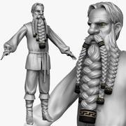 Peasant man C Zbrush Sculpt 3d model