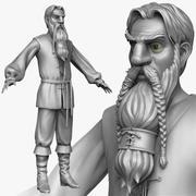 Peasant man E Zbrush Sculpt 3d model