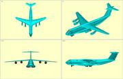 C-5B Model vaste assemblagevliegtuigen 3d model