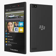Blackberry Z3 Smartphone 3d model