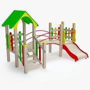 Plac zabaw dla dzieci 007 3d model