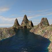 Landschaft 3d model