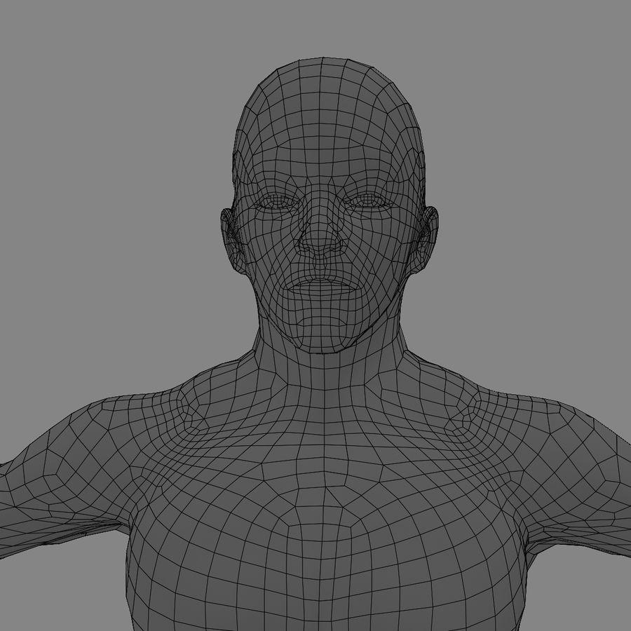 Homem atlético royalty-free 3d model - Preview no. 26