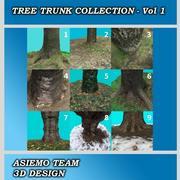 Tree Stump Collection - Vol 1 3d model